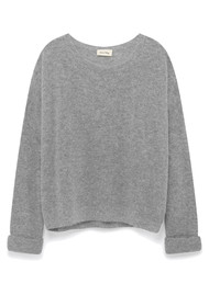 American Vintage Mitibird Pullover - Heather Grey