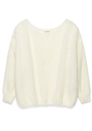 American Vintage Boodler Pullover - Mother Of Pearl