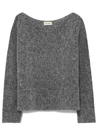 American Vintage Zapitown Jumper - Heather Grey