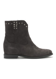 KANNA Fixe Suede Boots - Still Grey