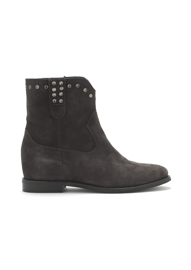 KANNA Fixe Suede Boots - Still Grey main image