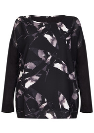 NOOKI Vera Top - Black Winter Swallow