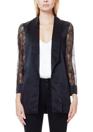 CAMI NYC Liz Silk Blazer - Black