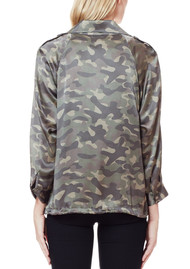 CAMI NYC Quinn Silk Jacket - Camouflage