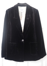 Day Birger et Mikkelsen  Day Tactile Velvet Blazer - Black