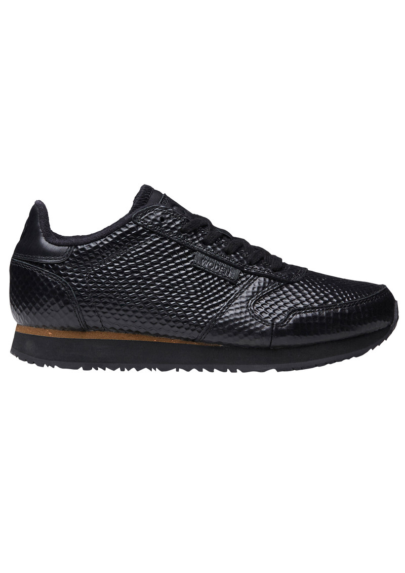 WODEN Ydun Metallic Trainers - Black main image