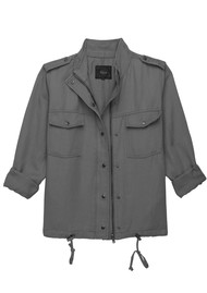 Rails Collins Jacket - Light Charcoal