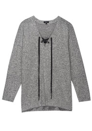 Rails Leigh Top - Melange Grey