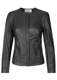 Day Birger et Mikkelsen  Day Invite Leather Jacket - Black