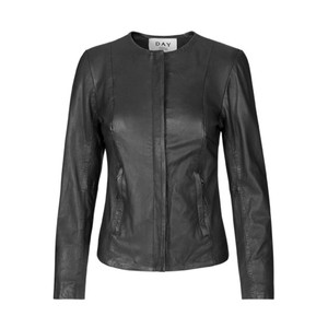 Day Invite Leather Jacket - Black