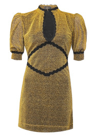 DE LA VALI Jazzy Dress - Gold