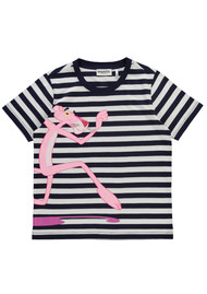 ESSENTIEL ANTWERP Riped Striped Tee - China Ink