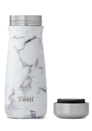 SWELL The Elements Traveler 16oz - White Marble