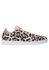 WODEN Jane Pony Trainers - White Leopard