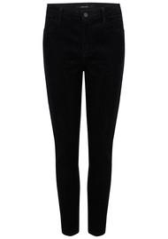 J Brand Alana High Rise Cord Skinny Jeans - Black
