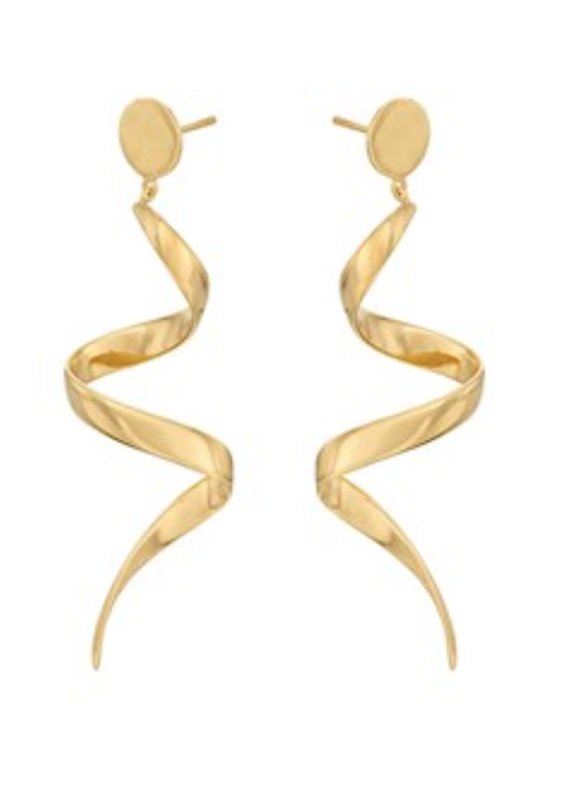 PERNILLE CORYDON Loop Earrings - Gold main image