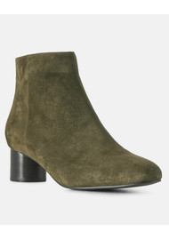Aya Suede Ankle Boot - Green