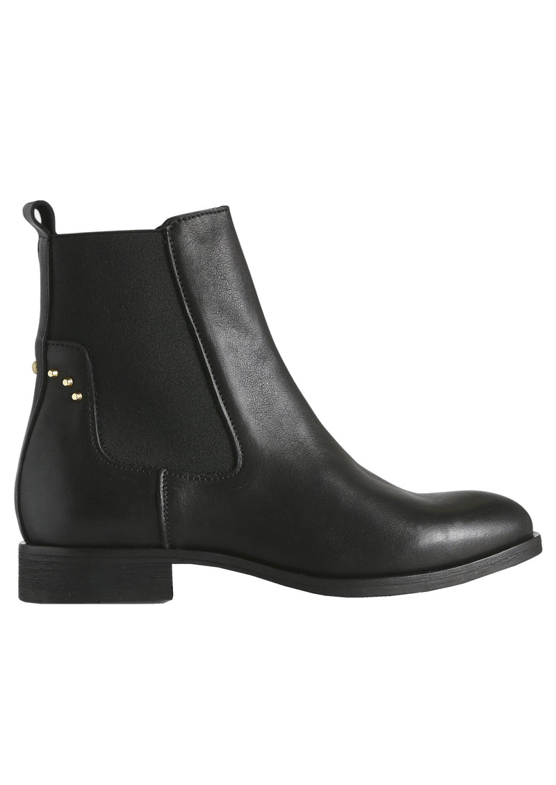 SHOE THE BEAR Marla Leather Chelsea Boot - Black main image