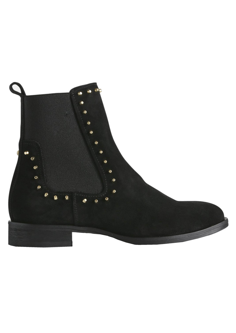 SHOE THE BEAR Marla Studs Suede Chelsea Boots - Black main image