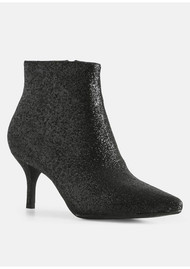 SHOE THE BEAR Abby Glitter Boot - Black