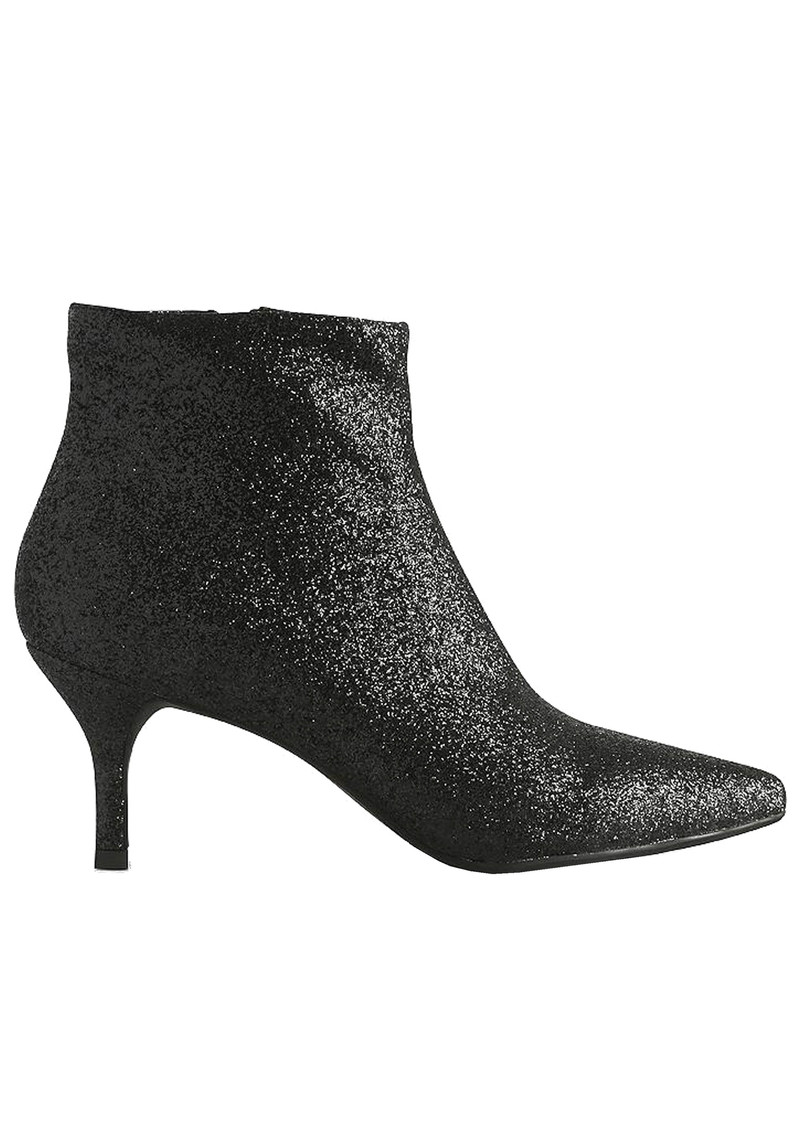 Abby Glitter Boot - Black main image