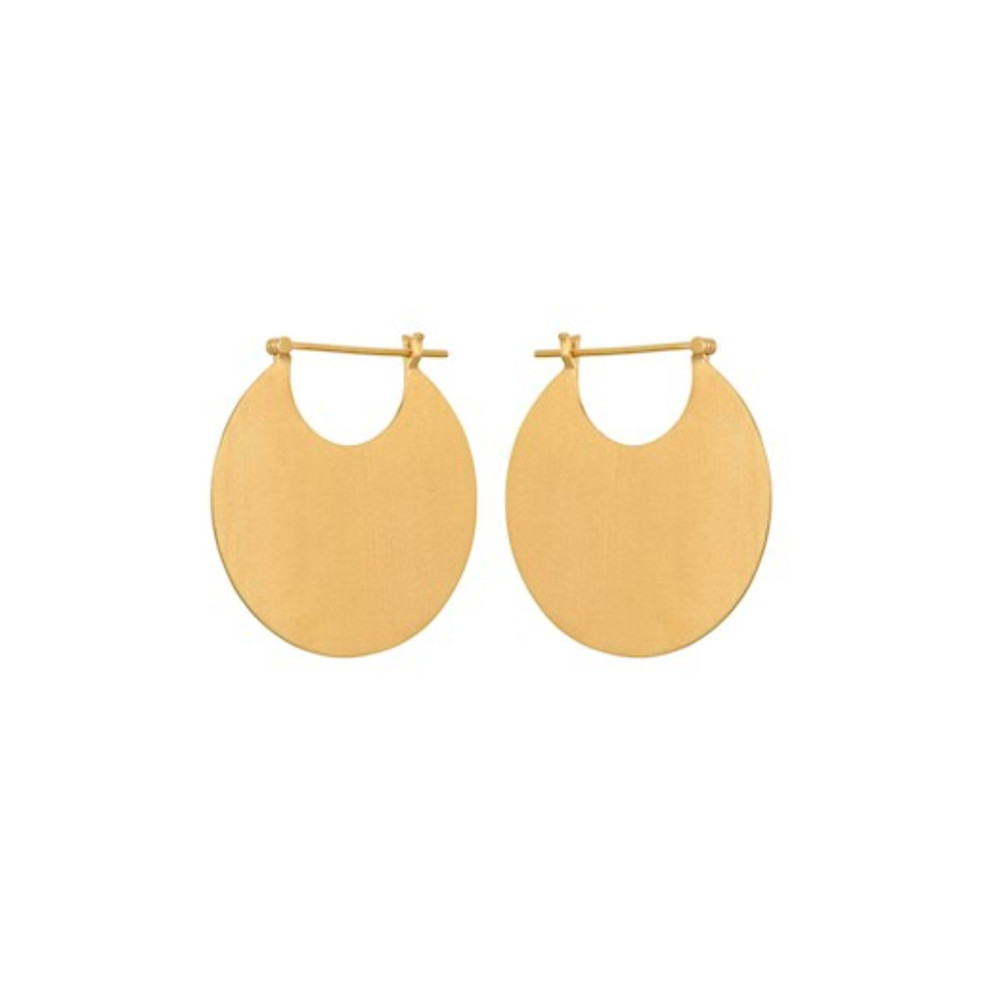 Omega Earrings - Gold