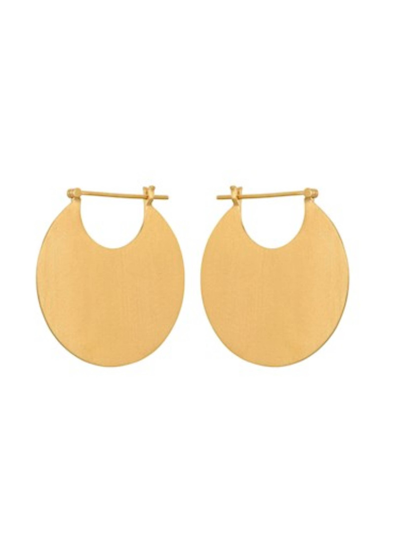 PERNILLE CORYDON Omega Earrings - Gold main image