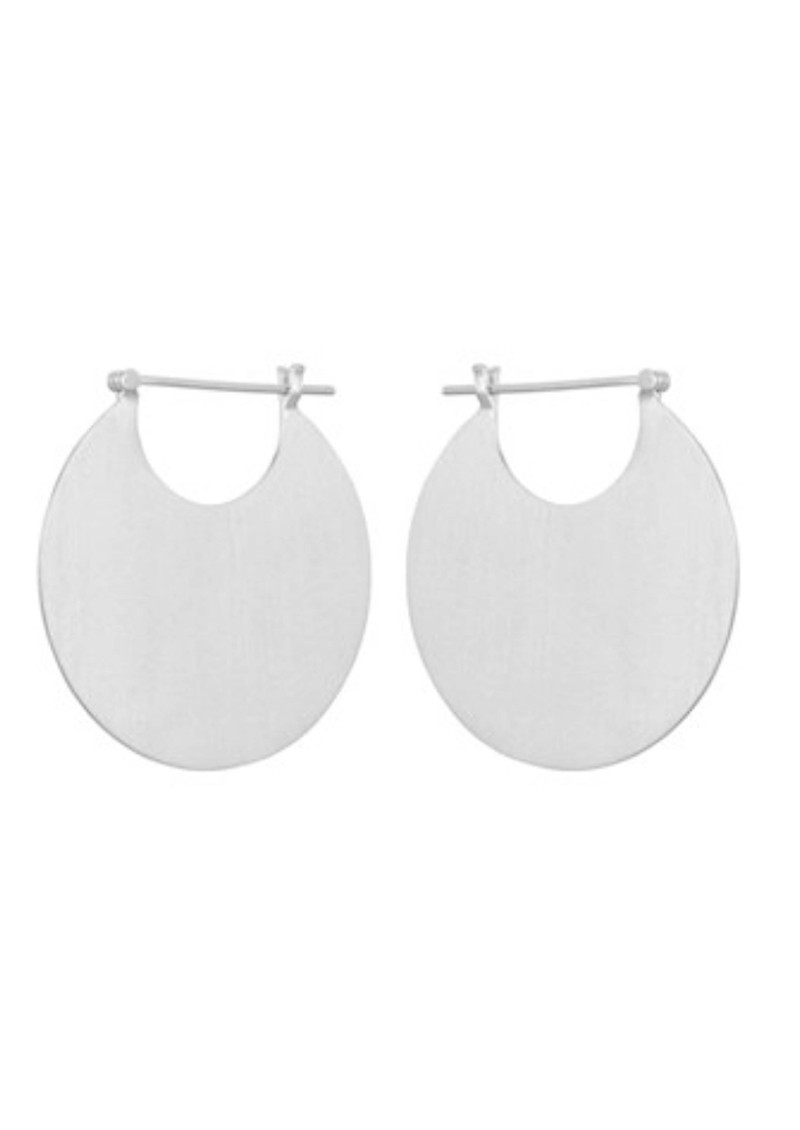 Omega Earrings - Silver main image
