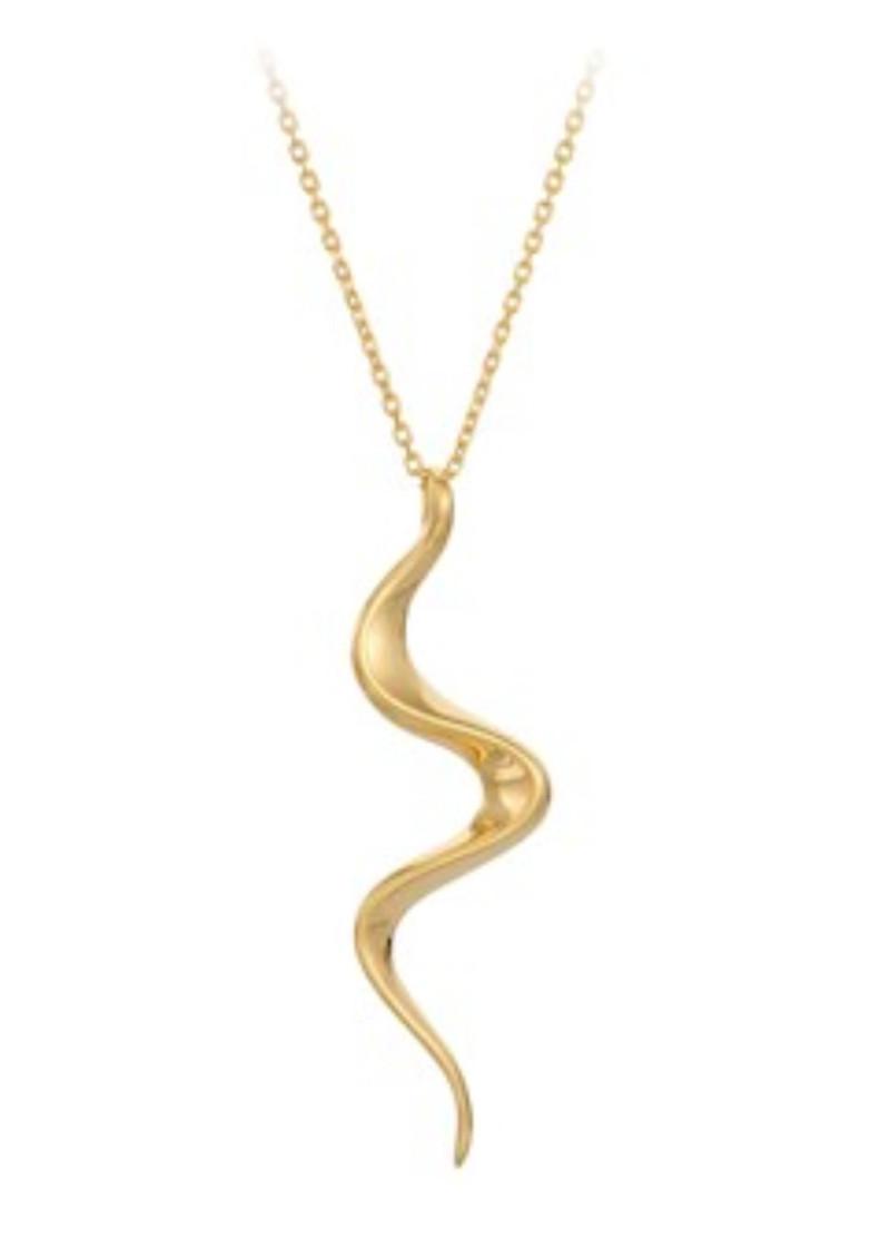 PERNILLE CORYDON Loop Necklace - Gold main image