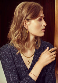 PERNILLE CORYDON Alpha Necklace - Gold