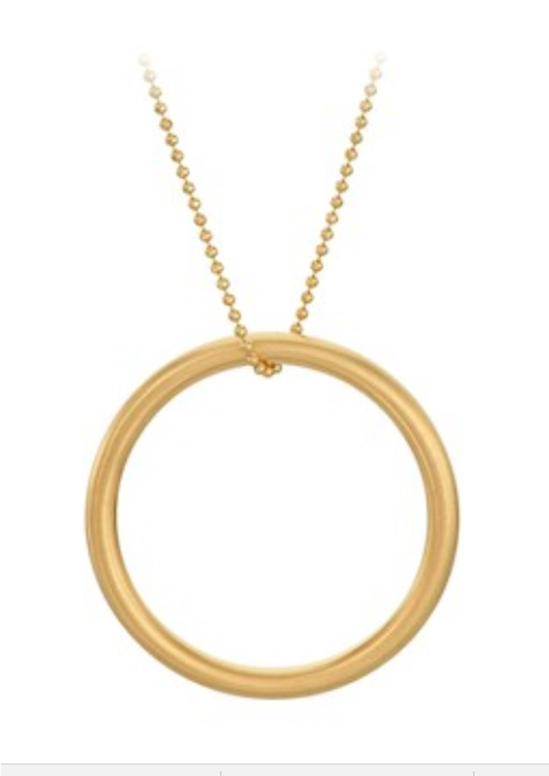 PERNILLE CORYDON Alpha Necklace - Gold main image