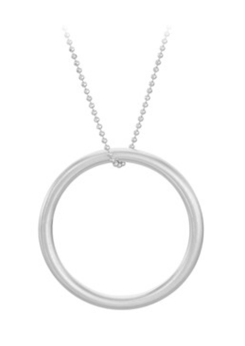 Alpha Necklace - Silver main image