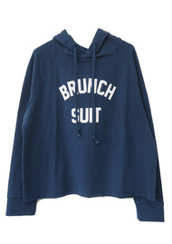 SOUTH PARADE Charlie Brunch Suit Hoodie - Blue
