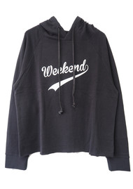 SOUTH PARADE Charlie Weekend Hoodie - Dark Grey