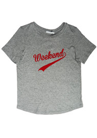 SOUTH PARADE Lola Weekend T-Shirt - Heather Grey