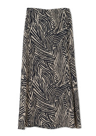 Lily and Lionel Lennox Wrap Skirt - Zebra Putty