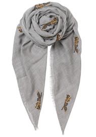Becksondergaard Dreamy Tiger Wool Scarf - Grey Melange