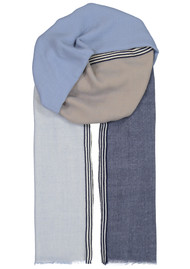 Becksondergaard Zula Wool Scarf - Dusty Blue
