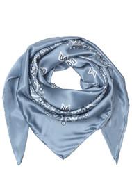 Becksondergaard Balas Silk Scarf - Dusty Blue