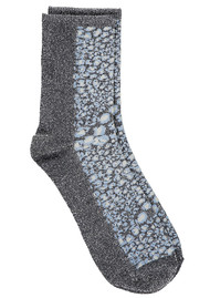 Becksondergaard Dagmar Leo Socks - Dusty Blue
