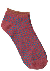 Becksondergaard Dollie Dot Socks - Raspberry Wine