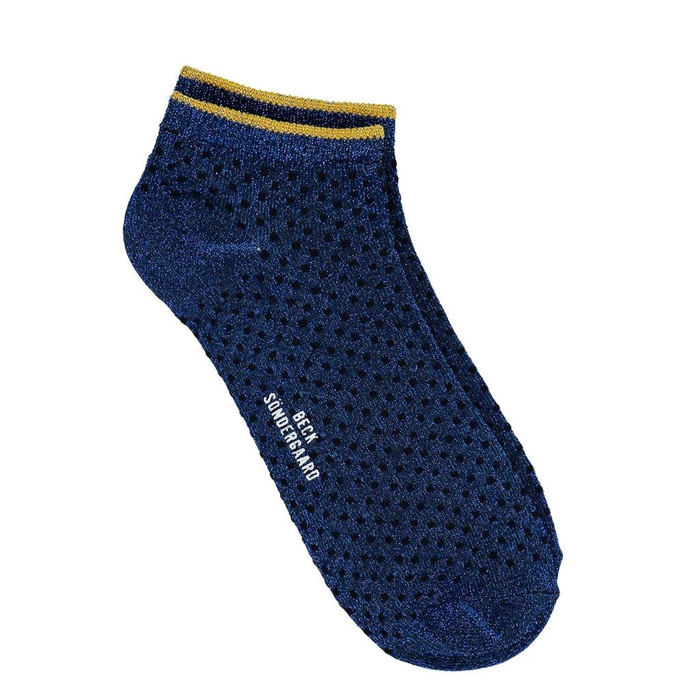 Dollie Dot Socks - Twilight Blue