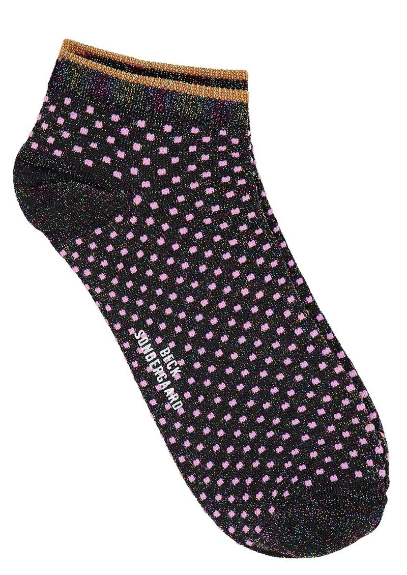 Becksondergaard Dollie Dot Socks - Fuschia Pink main image