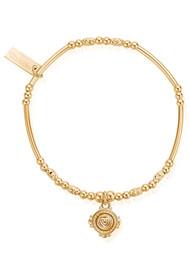 ChloBo Ariella Love Coin Bracelet - Gold