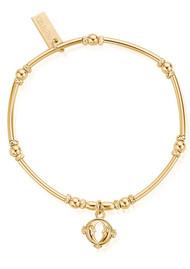 ChloBo Ariella Double Moon Bracelet - Gold