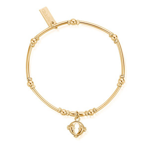 Ariella Double Moon Bracelet - Gold