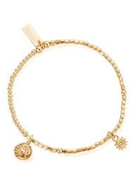 ChloBo Ariella Venetian Goddess Bracelet - Gold