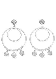 ChloBo Ariella Heavenly Hoops - Silver