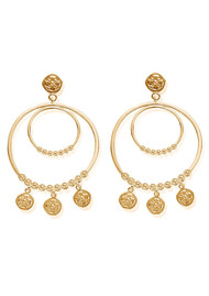 ChloBo Ariella Heavenly Hoops - Gold