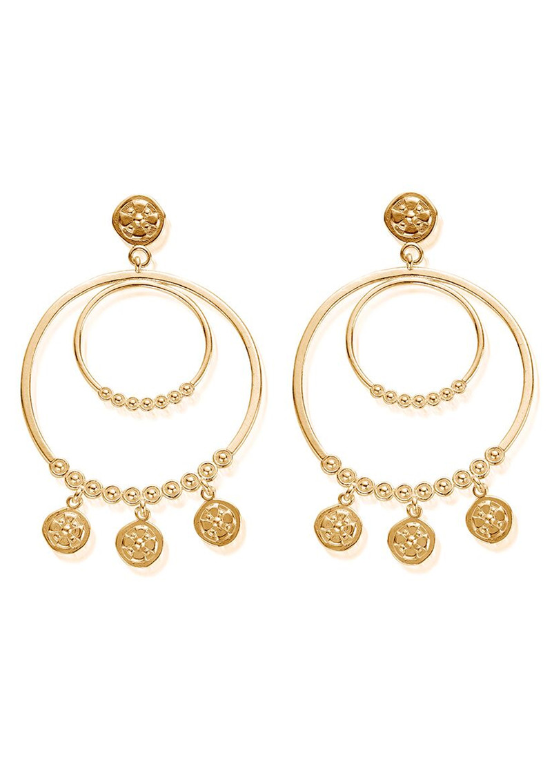 Ariella Heavenly Hoops - Gold main image